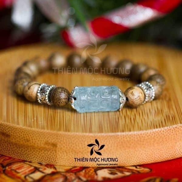 Vòng tay gỗ Trầm Hương Thanh Nguyệt