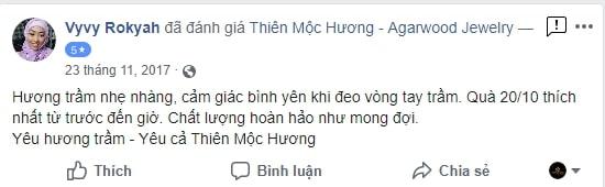 feedback Thiên Mộc Hương