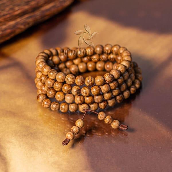 Vòng tay trầm hương 108 hạt Philippines
